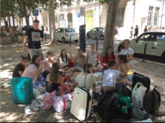 Visita de estudo a Lisboa